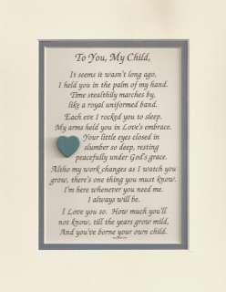 GOD Grace CHILD Daughter LOVE Son verses poems plaques