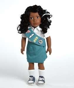 Girl Scout Jr 18 inch Doll Black Hair Madison 975