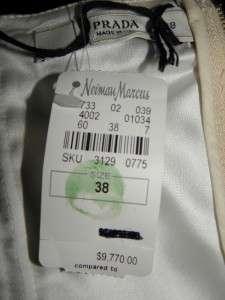 PRADA Deep Red Velvet Strapless Dress Gown 38 NWT $9770
