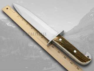 HEN & ROOSTER AND Deer Stag Bowie Pocket Knife Knives