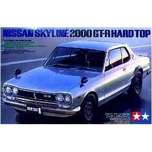 Nissan Skyline 2000 GT R Model Car 1 24 Tamiya Toys