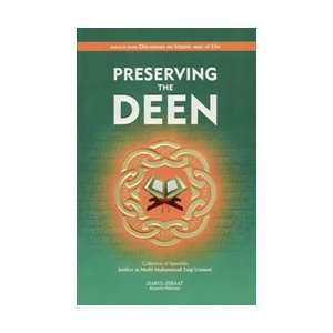 Preserving the Deen: Mufti Muhammad Taqi Usmani: Books