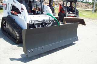 Six Way Dozer Blade & Snow Blade,96 For Skid Steer Loaders,Fits All