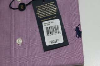 NWT POLO RALPH LAUREN MENS PINK PONY LONG SLEEVE DRESS SHIRT 16 / 17