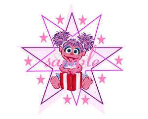 ABBY CADABBY ROUND EDIBLE CAKE TOPPER clik2c all