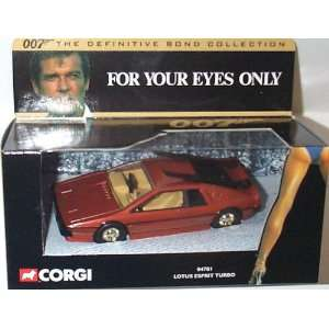James Bond Lotus Esprit Turbo Corgi the Definitive Bond