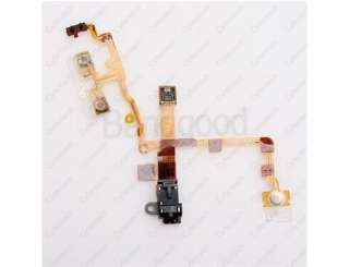 Earphone Jack Power Volume Switch Flex Cable For iPhone 3G NEW