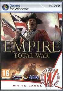 Empire Total War, Multiplayer RTS PC Strategy Game New