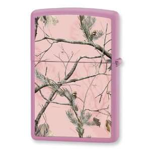 Zippo Realtree APG Pink Camouflage Pink Matte Lighter: Jewelry