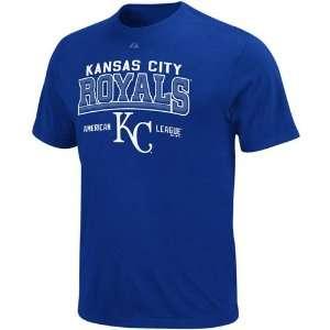 Majestic Kansas City Royals Royal Blue Built Legacy T shirt (Small