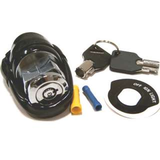 Position Round Key Ignition Switch for 1973 85 Harley