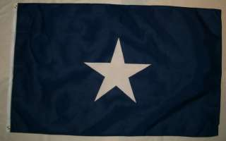 x5 BONNIE BLUE FLAG CONFEDERATE REBEL CIVIL WAR 3X5