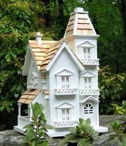 HOME BAZAAR VICTORIAN MANOR BIRDHOUSE DECORATIVE BIRD HOUSES