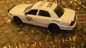 California Highway Patrol All White Car 164