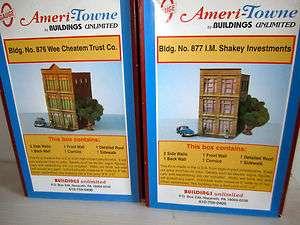 Gauge Trains Ameri Town Buildings Unlimited, Town/City 3 story