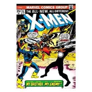 Marvel Comics Retro The X Men Comic Book Cover #97, Havok
