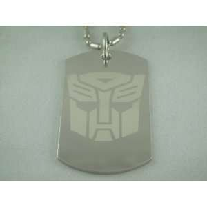 Transformers Autobot Logo Dog Tag Necklace: Everything
