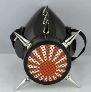 NEW RISING SUN SPIKE GAS MASK JAPAN ANIME NINJA WARRIOR COSPLAY