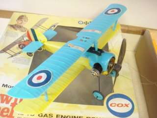 OLD COX SOPWITH PUP .049 POWERED CONTROL LINE MODEL AIRPLANE **