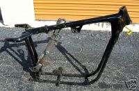 XL Frame & Swingarm Harley Ironhead Sportster