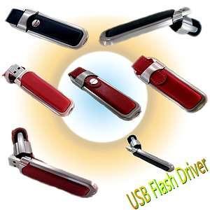 High Quality Leather USB Flash Driver 8GB/16GB/32GB Memory Stick Pen