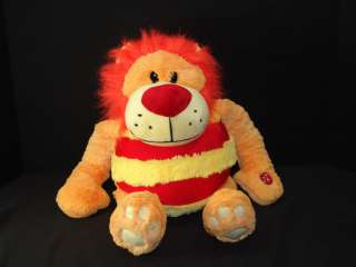 MUSHABELLY MICOBEAD PILLOW ROAR SOUND LION PLUSH STUFFED ANIMAL