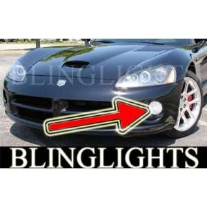 2003 2006 DODGE VIPER HALO FOG LIGHTS driving lamps srt 10