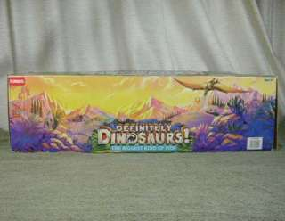 1980s Playskool Definitely Dinosaurs Apatosaurus with Box & Kronar