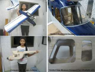 Super Ulraligh R/C airplane ki (Full ki) |