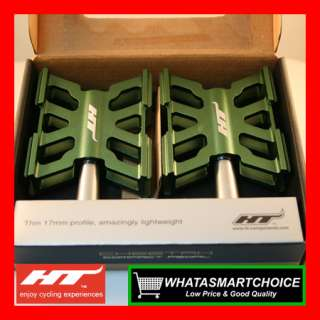AR10 GREEN Mountain & Road & BMX Bicycle Bike Pedals