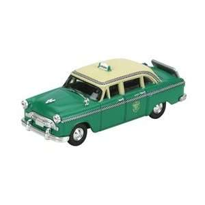 26373 Athearn HO RTR Checker A8 Taxi Green Toys & Games