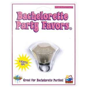 Bachelorette party light up diamond ring: Health