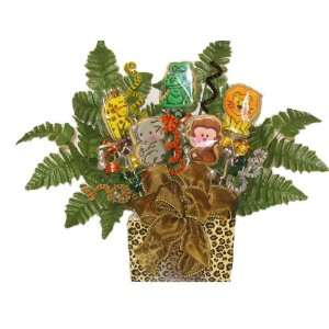 Baby Wild Animals 5 Cookie Bouquet