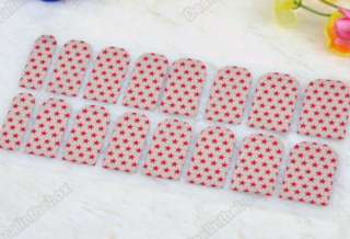 16 x 8 pcs Nail Art Sticker Transfer Decoration Kit Set