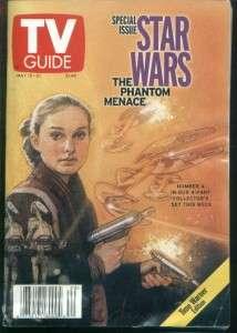 TV GUIDE MAY 15   21, 1999 STAR WARS THE PHANTOM MENACE