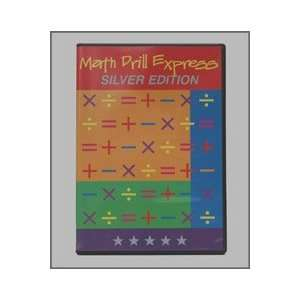 Math Drill Express Silver Edition CD Mac/Pc 2006 Learning Math Facts