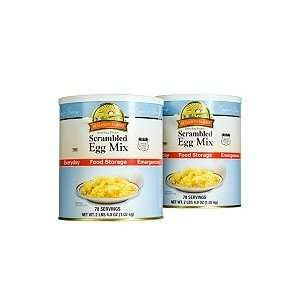 Augason Farms Food Storage Dried Scrambled Egg Mix   2 pk