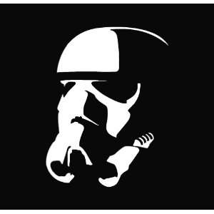 Star Wars   Stormtrooper Vinyl Die Cut Decal Sticker 5.00