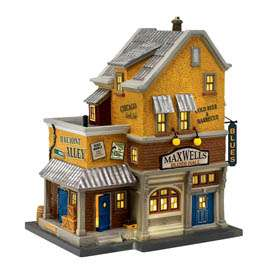 Dept 56 Christmas in the City MAXWELLS BLUES HALL 2011