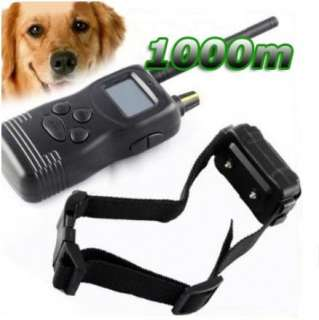 Long range 1000M Remote Control Dog Training Shock Collar 1 Dogs w/ 50