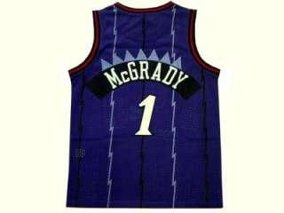 TRACY MCGRADY Toronto Raptors #1 Swingman Jersey Purple