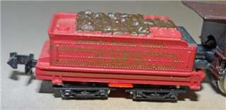 Scale   The American Train Set w/4 4 0 Locomotive/3 cars/track/trans