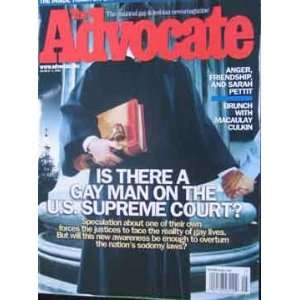 Advocate Magazine (March 4, 2003): staff: Books