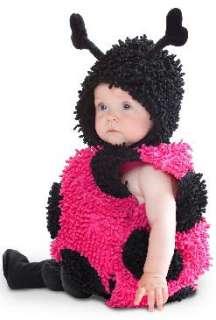 NEW LITTLE BABY PINK LADYBUG INFANT BUG TODDLER COSTUME
