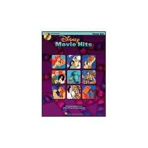 Hal Leonard Disney Movie Hits (Tenor Sax) Book and CD