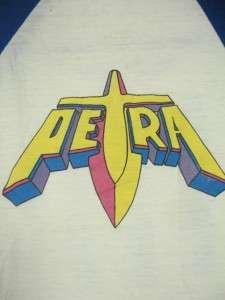 VINTAGE 84 PETRA NOT OF THIS WORLD TOUR T SHIRT SMALL