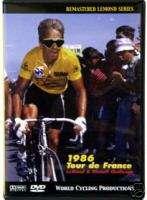 1986 Tour de France DVD Greg LeMond Bernard Hinault