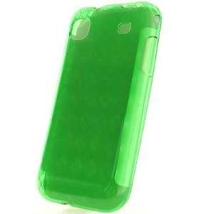 Crystal Skin TPU Glove GREEN CHECKERED PLAID Design Soft