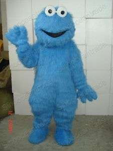 Sesame Street COOKIE MONSTER MASCOT COSTUME OUTFIT UK