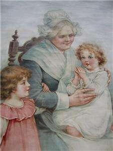 20 original signed frances brundage babys first prayer print